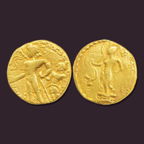 Chandragupta-II-Gold-Dinar-Sold-for-INR-140,000