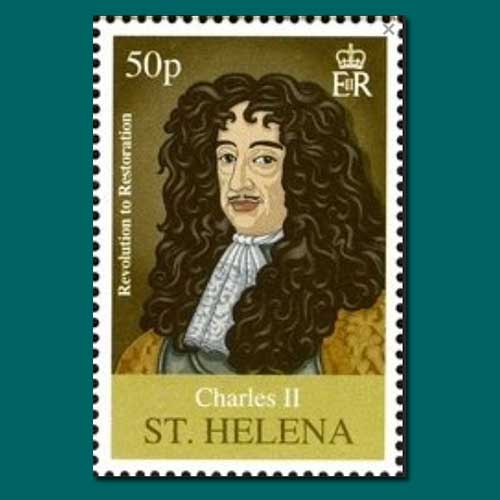Charles-II-of-England-Commemorative-Stamp