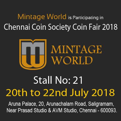 Chennai-Coin-Society-Coin-Fair-2018