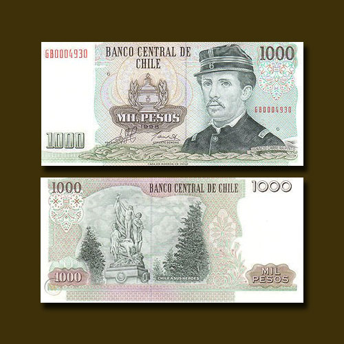 Chile-1000-Pesos-banknote-of-1998