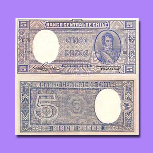 Chile-5-Pesos-banknote-of-1947-58-series