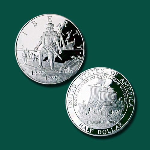 Christopher-Columbus-Quincentenary-Half-Dollar