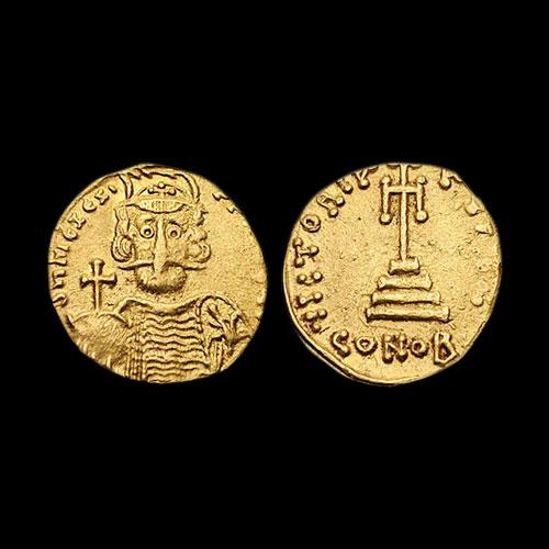Coin-of-Byzantine-Emperor-Mizizios-