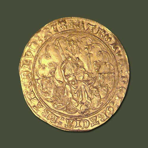 Coin-of-King-Charles-VI