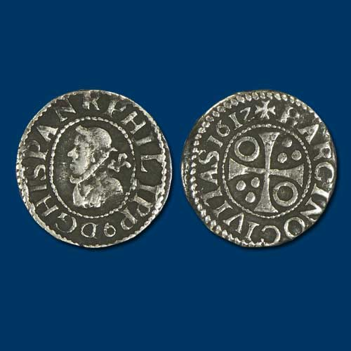 Coin-of-Philip-III-of-Spain