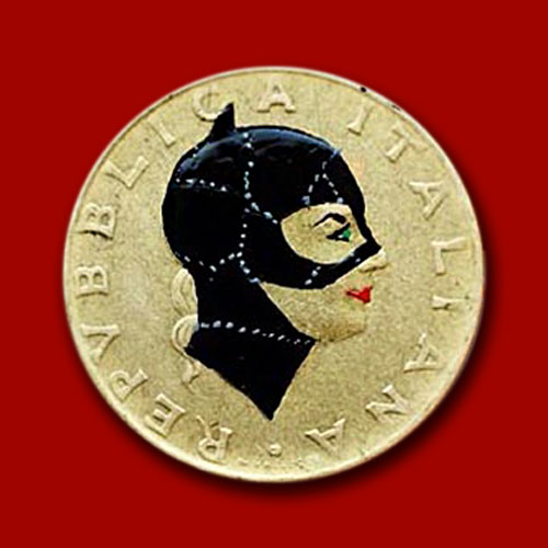 Coin-turned-into-tiny-pop-culture-portrait