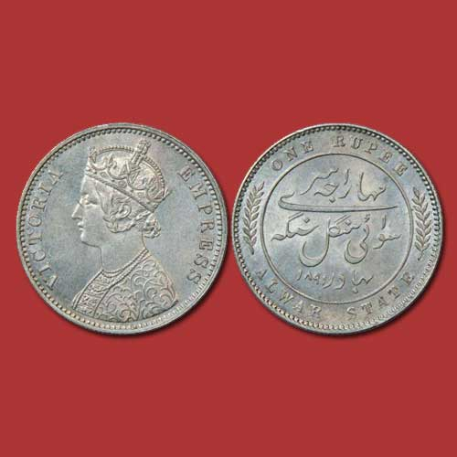 Coinage-of-Maharaja-Mangal-Singh