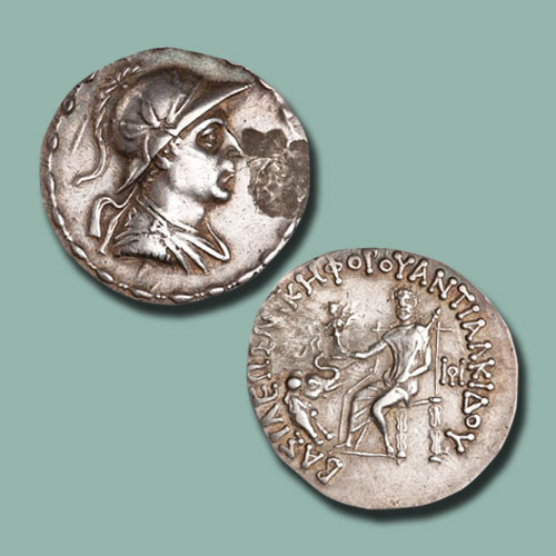 Coins-of-the-Indo-Greek-Kings:-Antialkidas