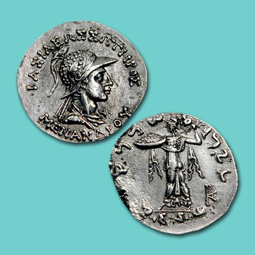 Coins-of-the-Indo-Greek-Kings:-Menander