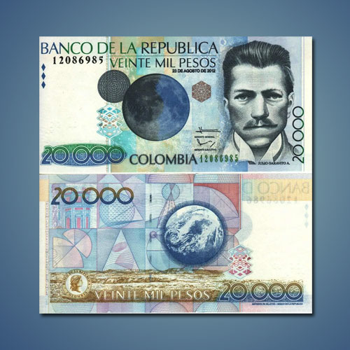 Columbian-Banknote-Featuring-Earth