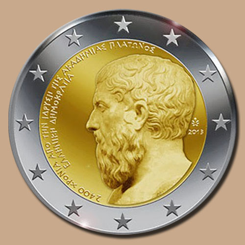 Commemorative-2-euro-Greece-coin-of-2013