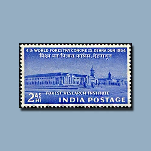 Commemorative-stamp-on-Forest-Research-Institute