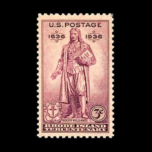 Commemorative-Stamp-on-Roger-Williams