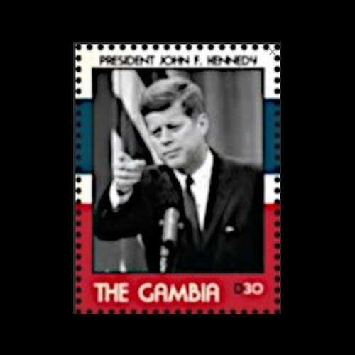 Commemorative-Stamp-on-United-State-President-John-F.-Kennedy