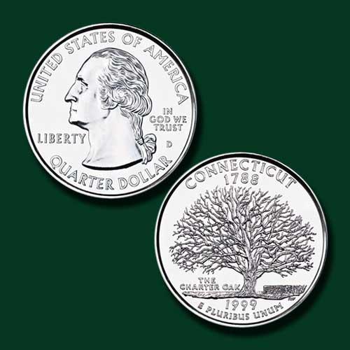 Connecticut-State-Quarter-Dollar
