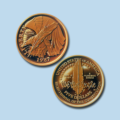 Constitution-Bicentennial-Gold-5-Dollar
