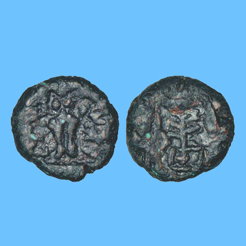 Copper-Alloyed-coin-of-Ancient-Kingdom-Kaushambi