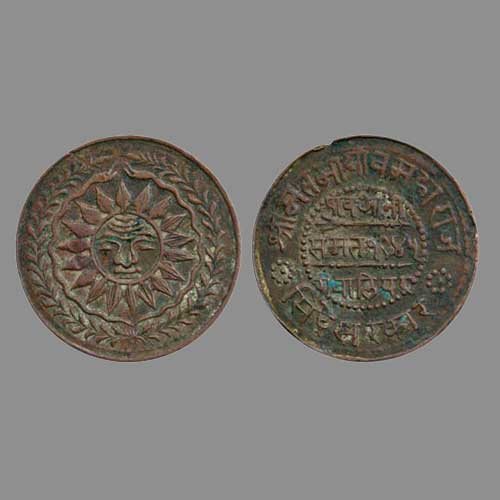 Copper-Anna-of-Gwalior