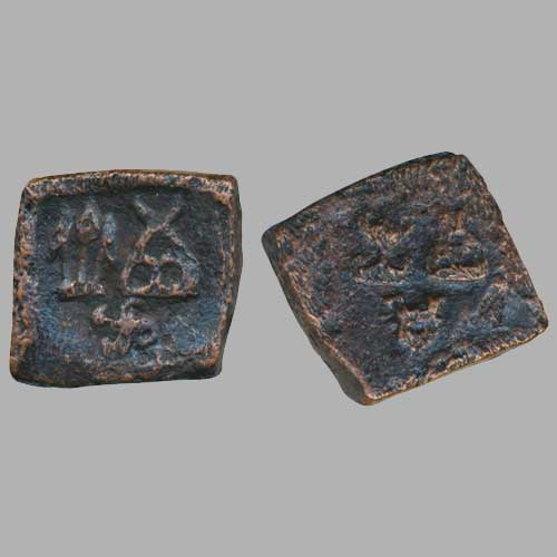 Copper-coin-from-Taxila