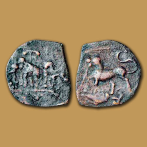 Copper-coin-of-Chola