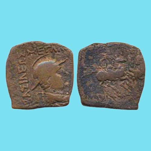 Copper-Coin-of-Indo-Greek-Ruler-Eucratides