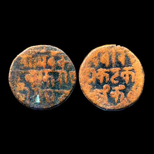 Copper-Coin-of-Kakatiyas-of-Warangal
