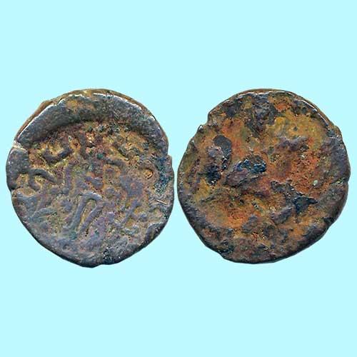 Copper-coin-of-Kshatrapas-of-Mathura
