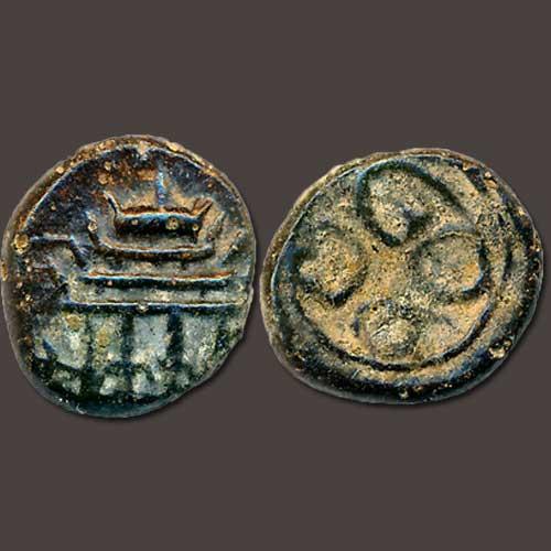 Copper-coin-of-Madurai