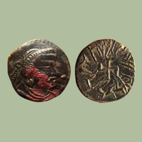 Copper-coin-of-Paratarajas-of-Baluchistan