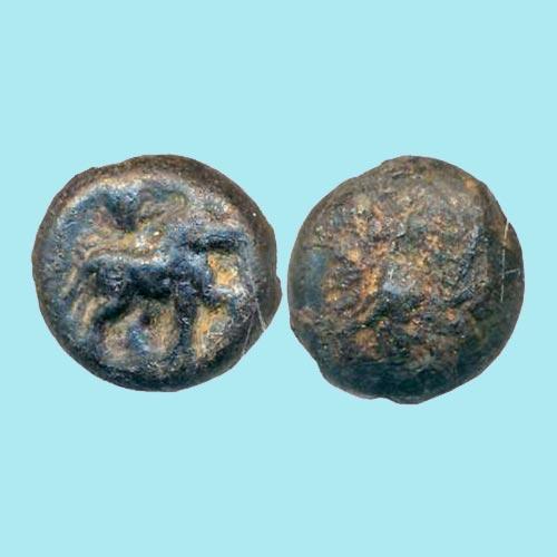 Copper-Coin-of-Pre-Satvahana-from-Pauni-region