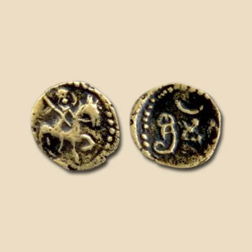 Copper-coin-of-Rastrakuta-dynasty