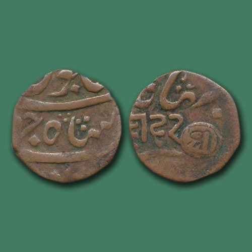 Copper-Dinglo-of-Princely-State-Bhaunagar
