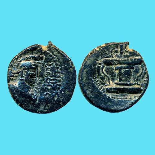 Copper-Drachm-of-Kushano-Sasanians-King-Kobad