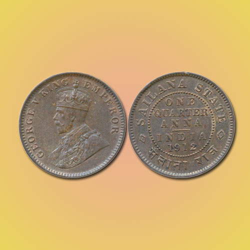 Copper-Quarter-Anna-of-Princely-State-Sailana