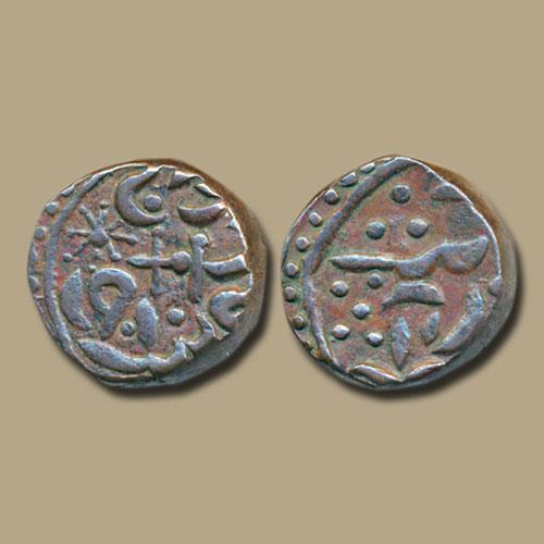 Copper-Quarter-Anna-of-Sirohi-State