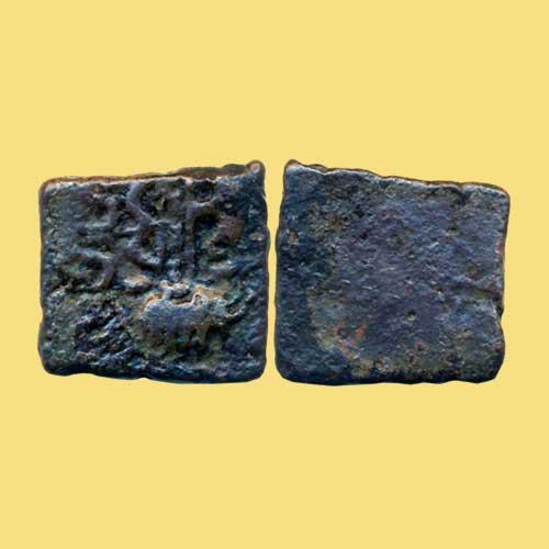 Copper-Square-coin-of-Sangam-Cheras