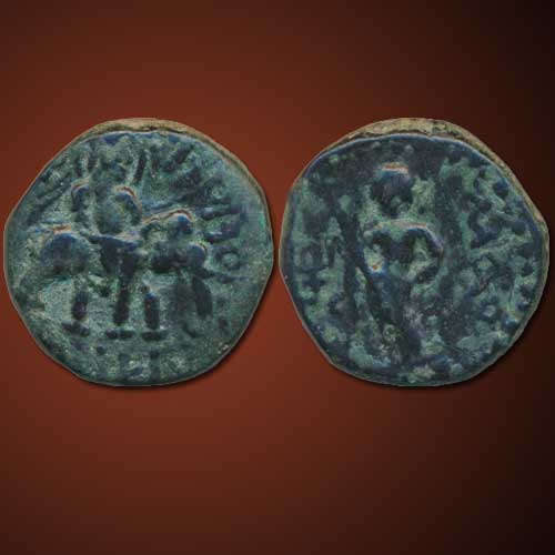 Copper-Unit-of-Kushan-Ruler-Huvishka