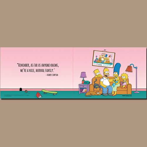 Corres-Issued-a-souvenir-sheet-illustrating-'the-Simpsons'