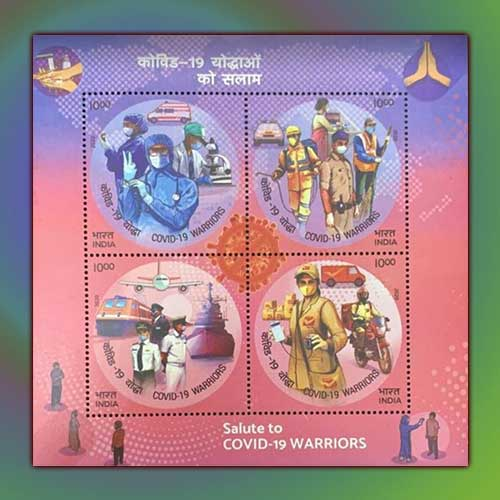 Covid-Warriors-Commemorated-on-Indian-Stamps
