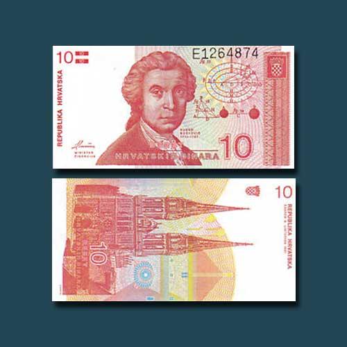 Croatia-10-Dinars-banknote-of-1991