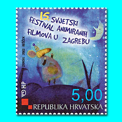 Croatian-stamps-celebrates-World-Animated-film-festival-