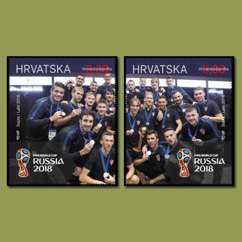 Croatia's-success-at-the-FIFA-World-Cup-2018-on-stamps