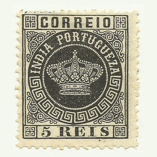 Crown-Issue-of-Portuguese-India
