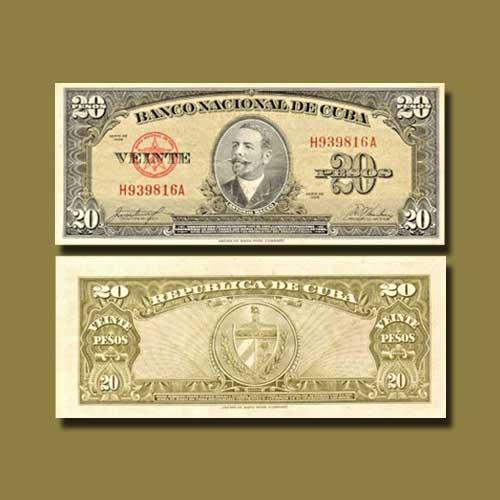 Cuba-20-Pesos-banknote-of-1958