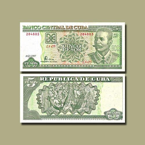 Cuba-5-Pesos-banknote-of-1997
