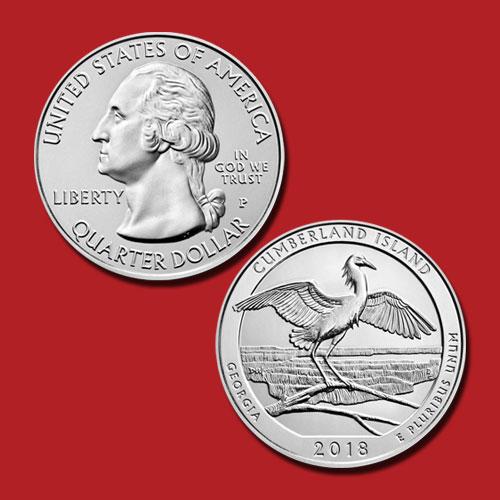 Cumberland-Island-National-Seashore-Quarter-Dollar