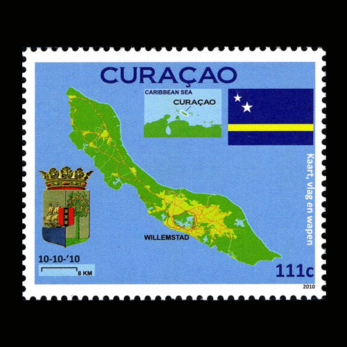Curacao-and-the-First-Stamp