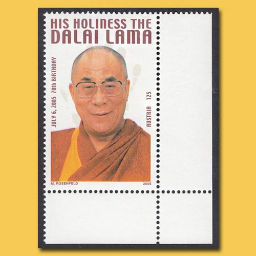 Dalai-Lama-Not-Issued-Stamp-of-Austria