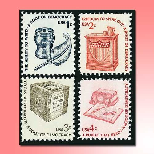 Definitive-stamp-series-of-American-Post