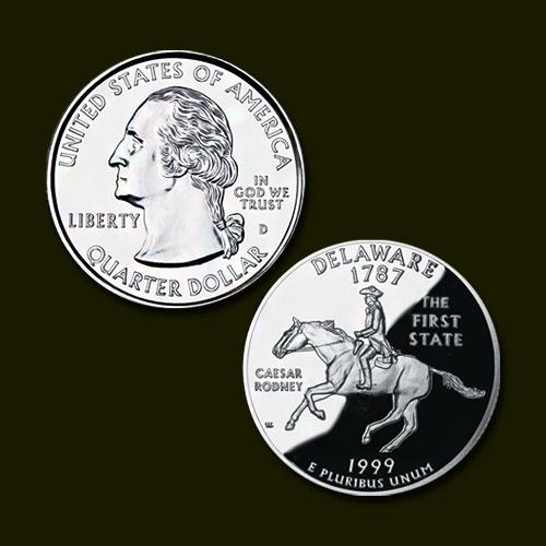 Delaware-State-Quarter-Dollar